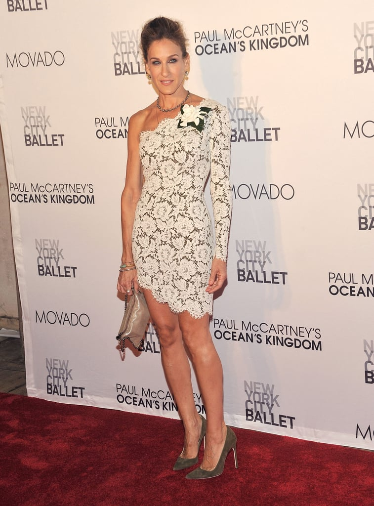 Sarah Jessica Parker at the opening of Ocean's Kingdom.