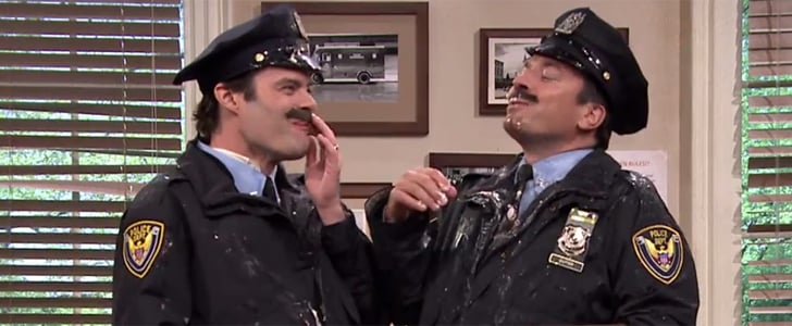 Bill Hader and Jimmy Fallon Police Skit on The Tonight Show