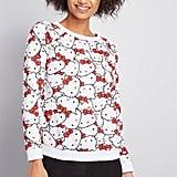 ModCloth for Hello Kitty Adorable All Over Sweatshirt