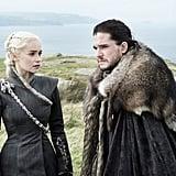 Daenerys Targaryen and Jon Snow From Game of Thrones