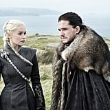 Daenerys Targayen and Jon Snow From Game of Thrones