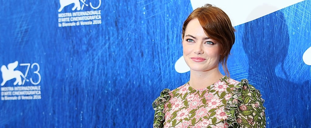 Emma Stone's Venice Film Festival Up 'Do Looked Super Simple — Until She Turned Her Head