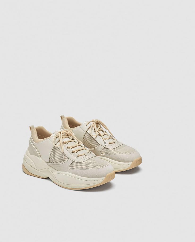 Zara Mesh Combination Sneakers