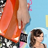 Nina Dobrev's Teen Choice Awards manicure was demure and sweet.