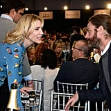 Cate Blanchett and Zach Galifianakis