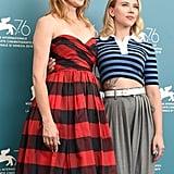 Laura Dern and Scarlett Johansson at the 2019 Venice Film Festival