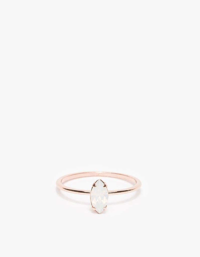Bing Bang Tiny Marquis Ring ($70)