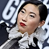 Awkwafina at the 2020 Golden Globes
