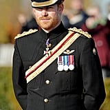 Harry's Military Uniform