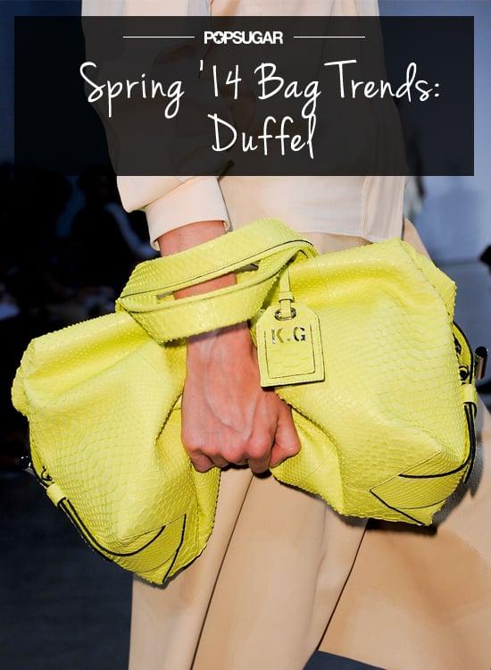 Spring Bag Trend No. 2: Duffel