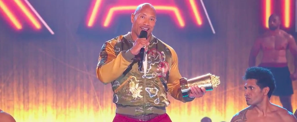 Dwayne Johnson Acceptance Speech at 2019 MTV Awards Video