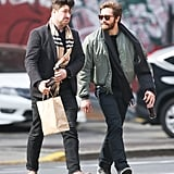 Jake Gyllenhaal and Marcus Mumford