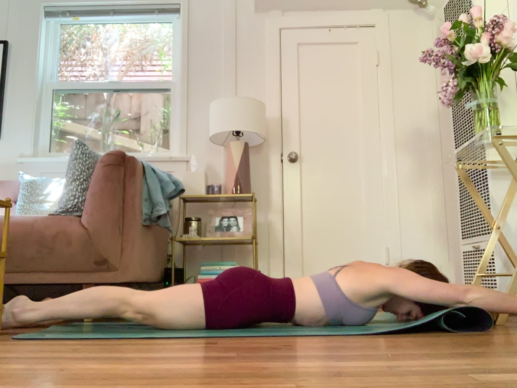 Reverse Hollow Body Hold