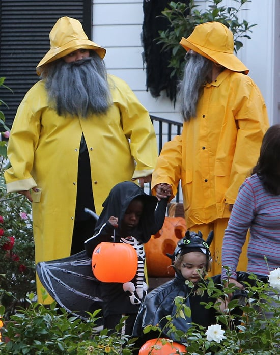 Sandra Bullock and Melissa McCarthy | Halloween 2013
