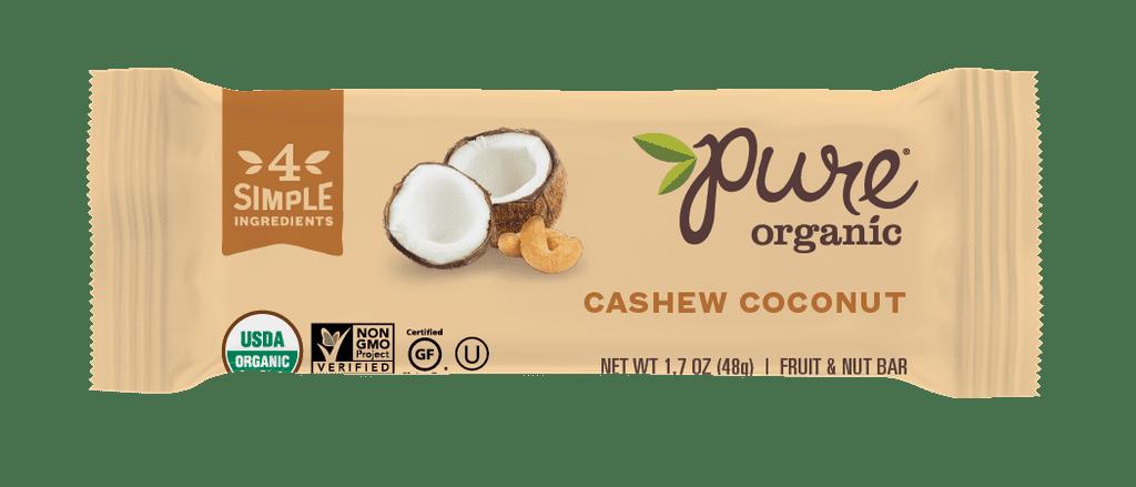 Pure Organic Cashew Coconut Bar