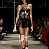 Okayyyy, Winnie! She's obviously no stranger to sexy and delicate pieces (as proven during the Julien Macdonald show) so she'll fit right in with the VS crew.