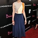 Carey Mulligan posed on the Drive red carpet.