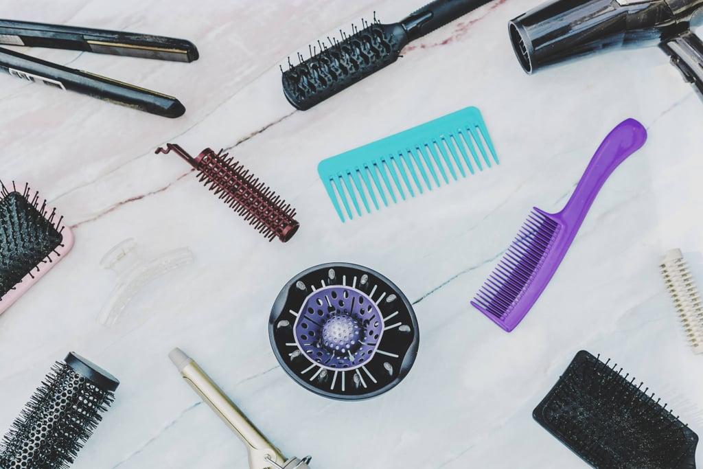 Marie Kondo's KonMari Method For Hair Tools
