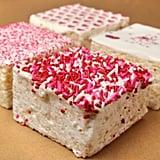 The Crispery Giant Marshmallow Valentine's Crispy Treats  ($40)