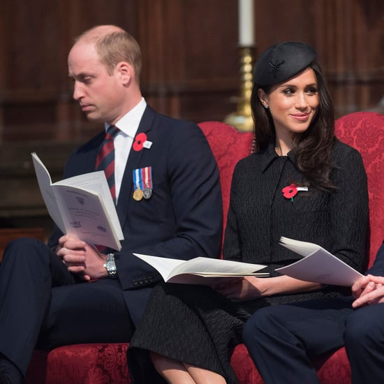 Prince William Falls Asleep in Church