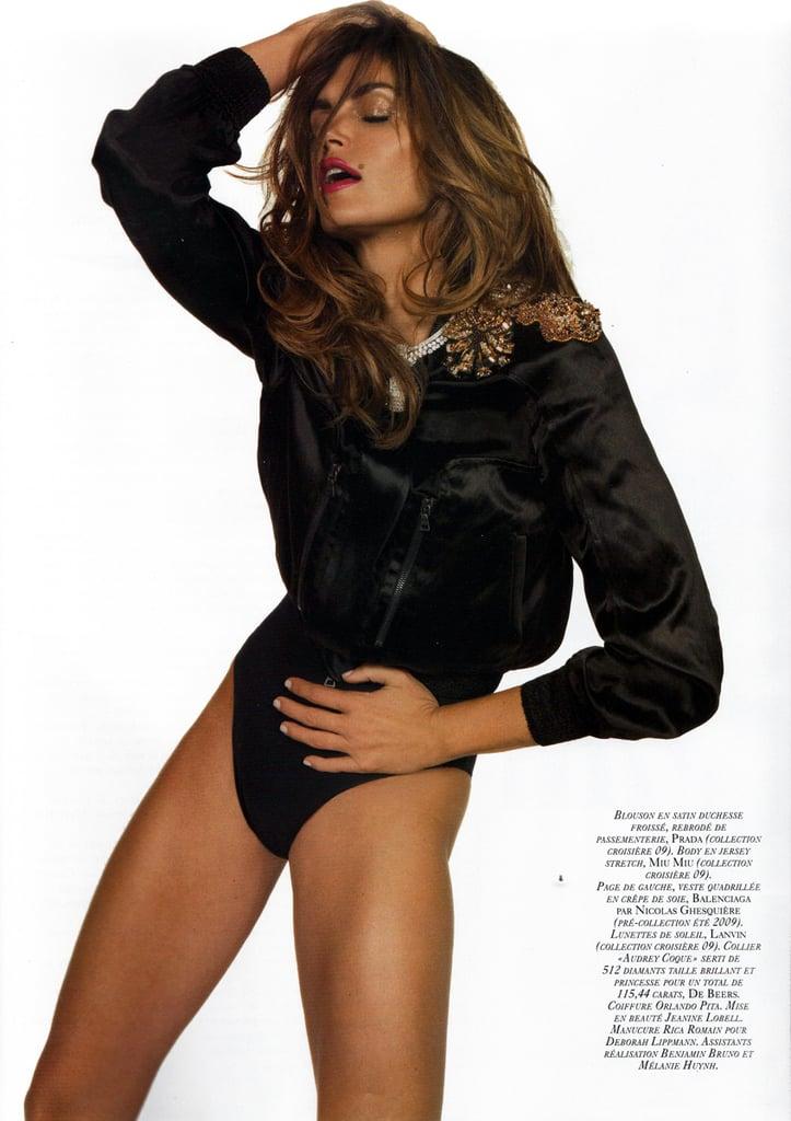 Girls on Film: Cindy Crawford, Vogue Paris, November '08
