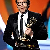"""I got to have sex with Kate Winslet many, many times. And I didn't realize it was going to result in this."" — Guy Pearce, accepting his Emmy for best supporting actor in a miniseries."