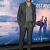 Ryan Gosling suited up for the Paris premiere of Lost River on Tuesday.