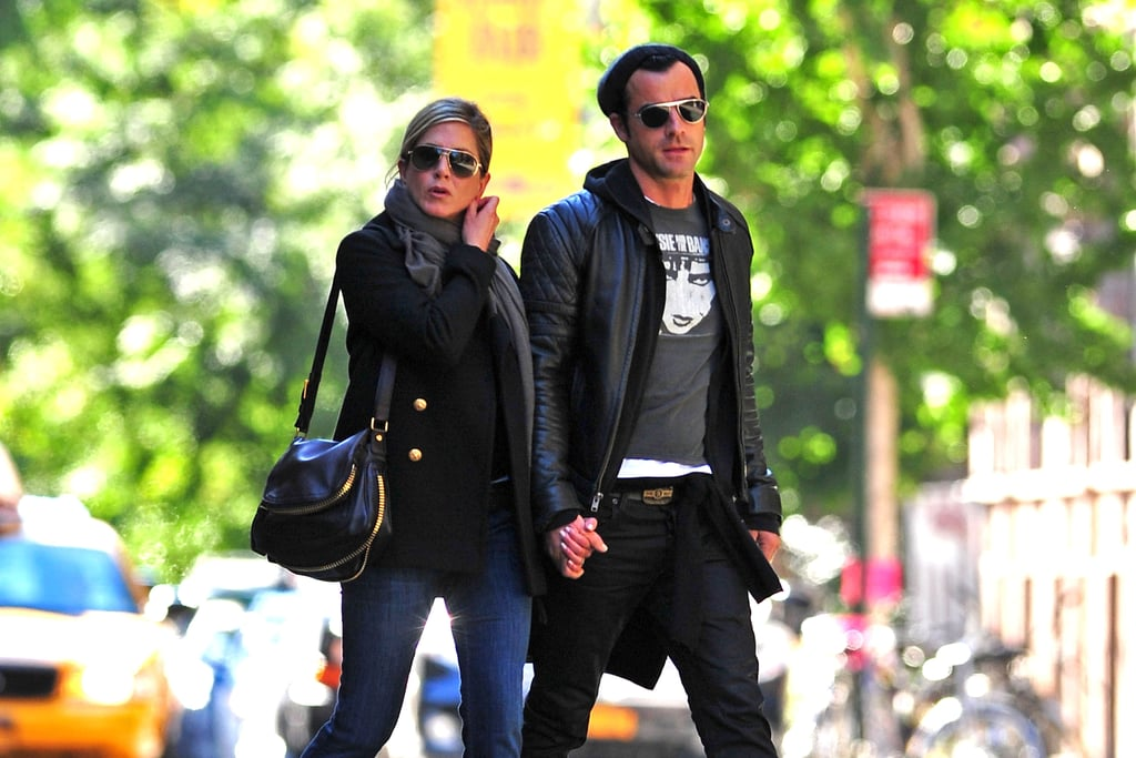 Jennifer and Justin took a picturesque stroll through NYC in September 2011.