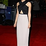 Keira Knightley at the 2011 BFA London Film Festival