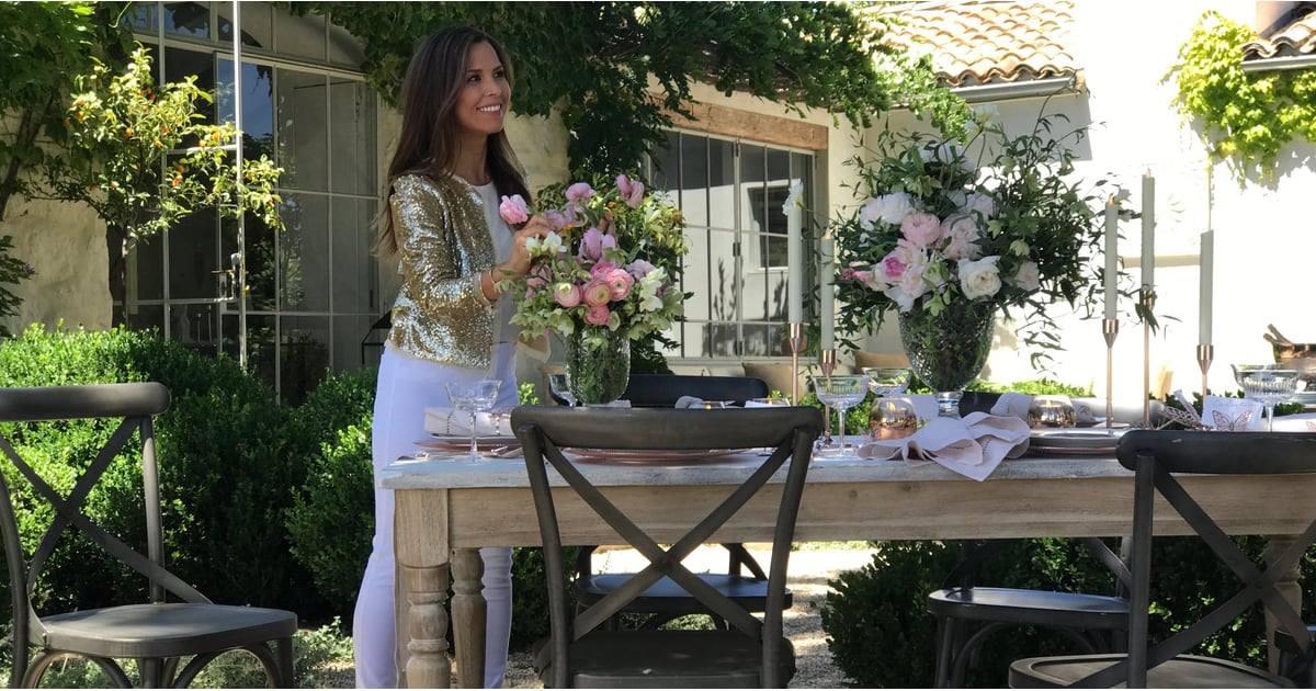 monique lhuillier is designing a pottery barn collection. Black Bedroom Furniture Sets. Home Design Ideas