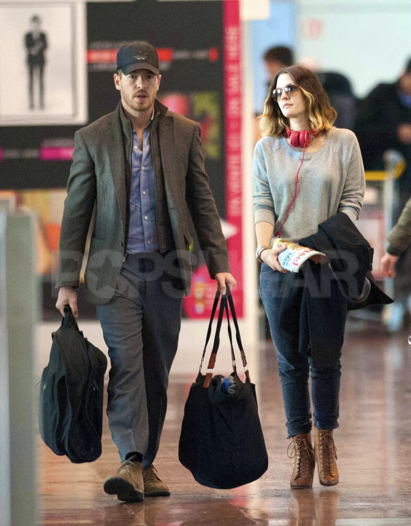 Drew Barrymore and Will Kopelman touched down at Charles De Gaulle Airport in France yesterday. The couple caught a ride into Paris and checked into the Ritz Carlton Hotel. Drew and Will have been spotted hanging close to their LA home base recently, with trips to their favorite lunchtime spots Joan's on Third. This isn't Drew and Will's first European vacation together, since the pair visited Italy last Fall. Drew and Will shared kisses in Rome and snapped photos inside the Pantheon and in front of the Trevi Fountain.