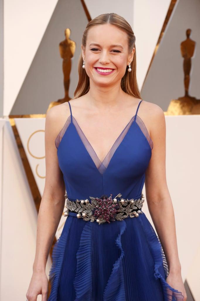 Brie Larson At The Oscars 2016 Popsugar Celebrity Australia