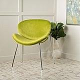 Corbin Retro Velvet Accent Chair