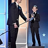 Pictured: Jacob Tremblay