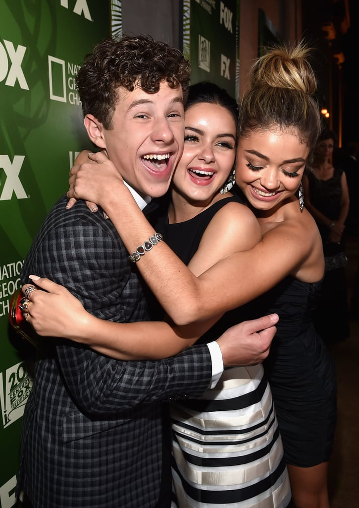 The Modern Family kids showed love at the Fox/FX fete.