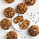 Healthy Vegan Banana Chocolate-Chip Muffins