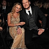 Miranda Lambert and Blake Shelton, 2012