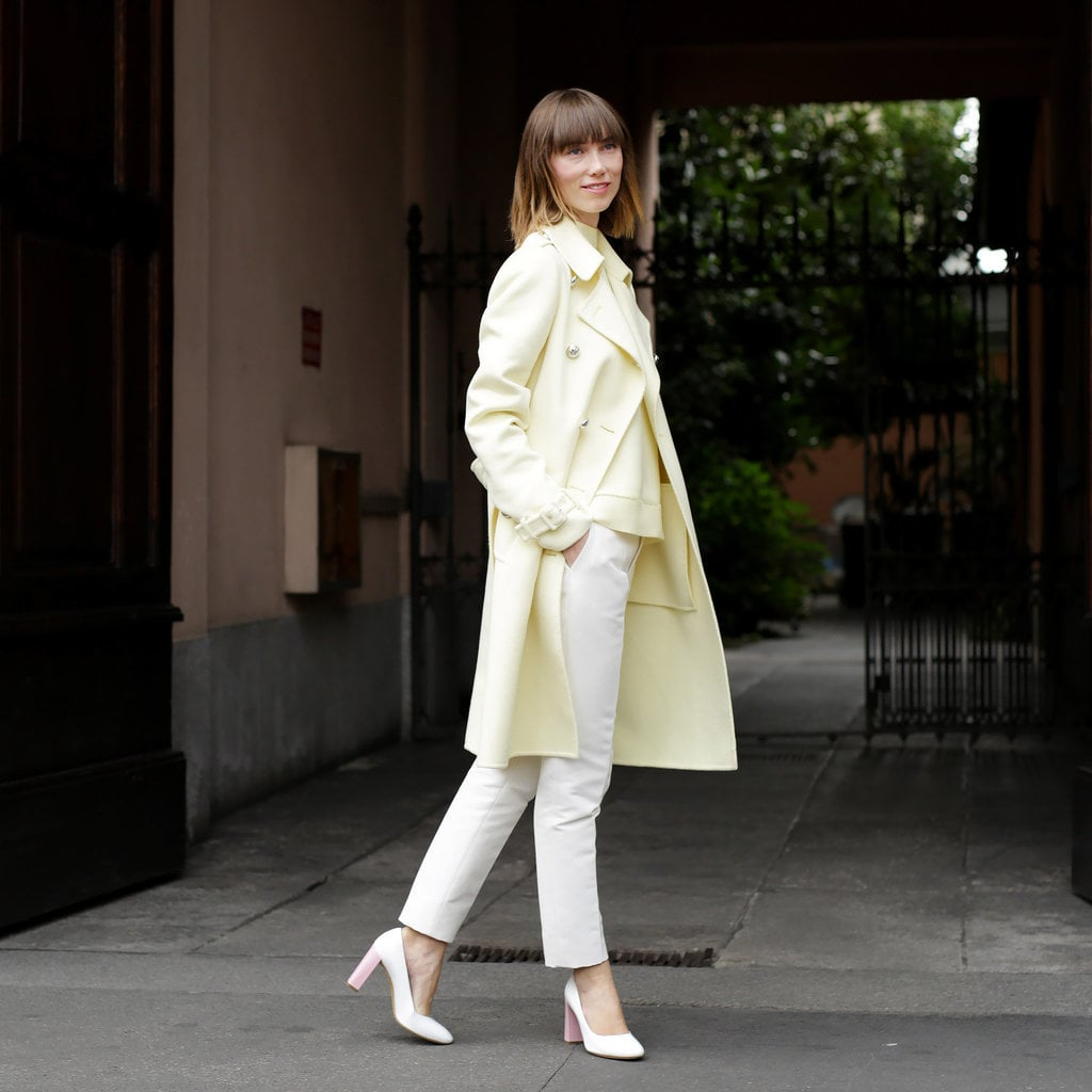 Pastel Coats For Fall