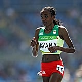 When an Ethiopian runner set a world record in the 10,000m race.