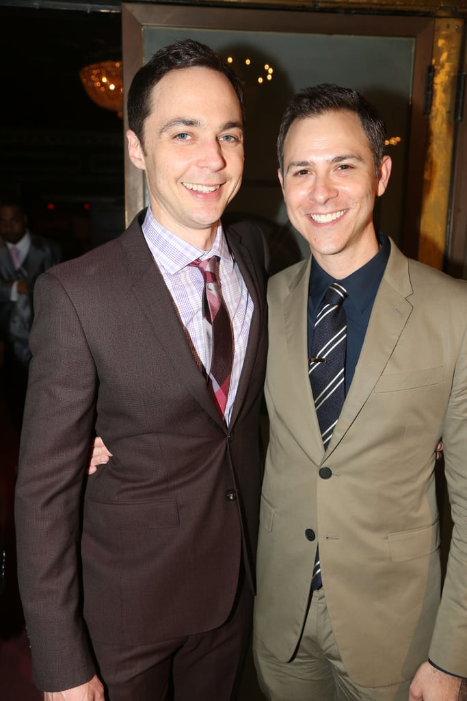 """Jim Parsons and Todd Spiewak got married in a beautiful ceremony at the Rainbow Room in NYC on May 13 after nearly 15 years together. The couple first met on a blind date at a karaoke bar in 2002, and ironically the first song Jim sang was Cher's """"I Found Someone."""" To make matters even cuter, the graphic designer often accompanies the Big Bang Theory star to red carpet events and Jim frequently shares photos of the two on Instagram. Take a look at the pair's cutest moments together.      Related:                                                                                                           Wedding Bells: All the Celebrity Couples Who've Said """"I Do"""" This Year"""