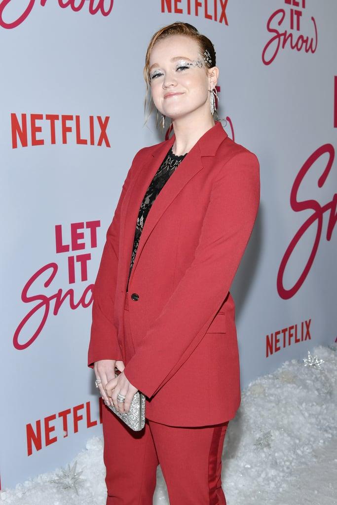 Liv Hewson at the Let It Snow Premiere