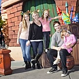 Peter Facinelli and Jennie Garth Have a Magical Post-Christmas Adventure With Their Girls