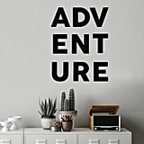 Adventure Removable Wall Decal