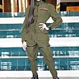 Winnie Harlow at the Prada Milan Fashion Week Show
