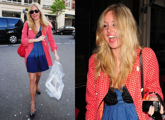 Photos of Diana Vickers Celebrating Debut Single Number One With Doughnuts Watch and Listen to Live Loung Just Say Yes and Once