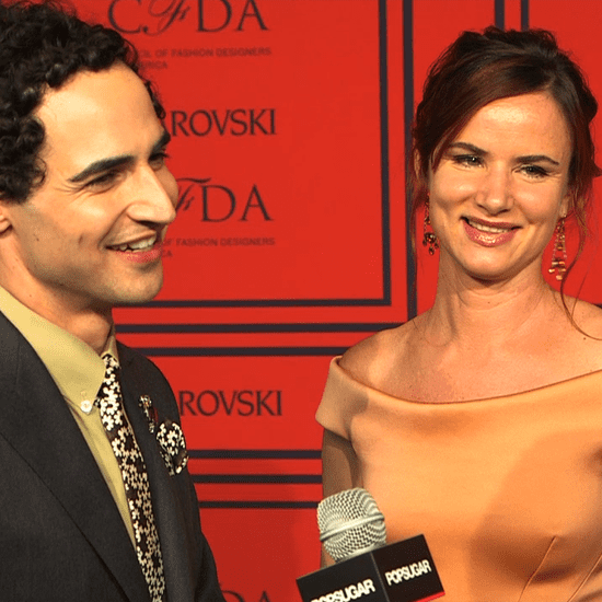 Zac Posen and Juliette Lewis at CFDA Awards | Video