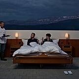 Open-Air Hotel Room in Switzerland