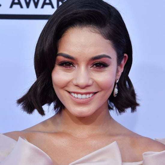Vanessa Hudgens Hair and Makeup at the 2017 Billboard Awards