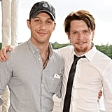 With Jack O'Connell at the Audi Polo Challenge in 2014.