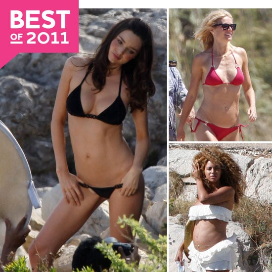 Best Celebrity Bikini Pictures of 2011